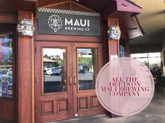 All the Deets on Maui Brewing Company — The Canadian Creative Teriyaki Rice, Four Restaurant, Grilled Flatbread, Thai Beef Salad, Shrimp Cakes, Seared Ahi, Beet Hummus, Hawaii Honeymoon, Grass Fed Beef