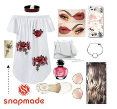 """Snap made accessories☆"" by nicolebryon ❤ liked on Polyvore featuring Vanessa Mooney, Coast and Ray-Ban"