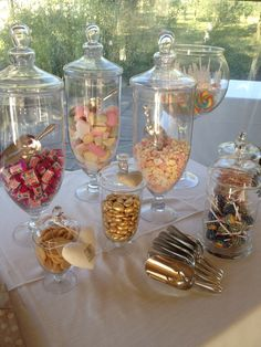 Sweetie tables. Design by The Lake Como Wedding Planner #lakecomo #wedding #weddingplanner