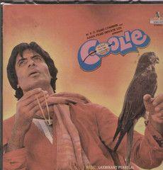 Coolie 1980 Bollywood Vinyl LP