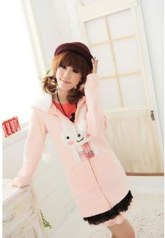 Kawaii Clothing | Chaqueta Conejo / Bunny Hoodie 2WH220 | Online Store Powered by Storenvy