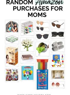 Read this post for other fun and useful random amazon purchases for moms.