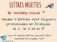 prononciation des lettres en francais 3 lettres qui ne sont jamais muettes en…