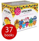 Little Miss: The Complete Collection - 37 Books-Roger Hargreaves