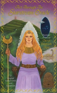 Avalon Starstream Oracle by Cheryl Yambrach Rose Divination Cards, Tarot Cards, Oracle Tarot, Oracle Deck, Fortune Telling Cards, Angel Cards, Deck Of Cards, Mythology, Aurora Sleeping Beauty