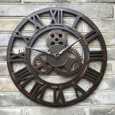 1000 id es sur grandes horloges murales sur pinterest - Grande horloge murale design pas cher ...