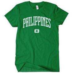 Philippines T-shirt by Smash Vintage: Amazon.com: Clothing