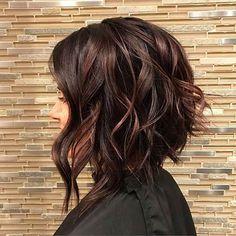 Chocolate Mauve Hair Color Ideas for 2018 – Best Hair . Chocolate Mauve Hair Color Ideas for 2018 Hair Color 2018, Hair Color And Cut, Hair Color Dark, Brown Hair Colors, Hair 2018, Hair Colour, Dark Hair Style, Fall Hair Colors, 2018 Color