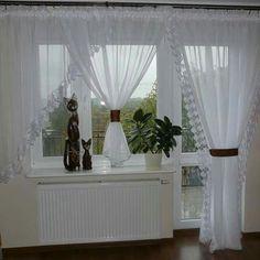 Rideaux Design, Window Treatments, Windows, Curtains, House, Home Decor, Elegant Curtains, Houses, Home Decoration