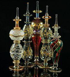 Egyptians perfume bottles