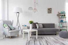couleurs pastel decoration salon gris #pastel #colors