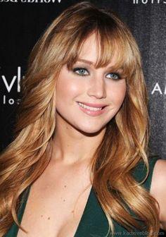 Jennifer Lawrence Bal Kopugu Sac Rengi Denemesi Sac Stilleri Sac Trendleri Rengarenk Sac