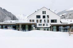 Luxurious Hotel Interior Wiesergut in Hinterglemm: Traditional Wiesergut Residence Design Built Elegantly With Random Modular Windows Domina...