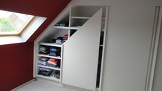1000 images about combles on pinterest dressing shelf inspiration and lof - Dressing sous pente ikea ...
