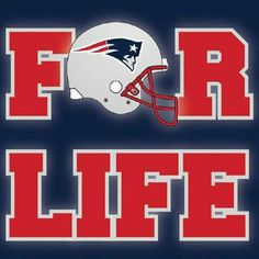 Patriots fan for Life