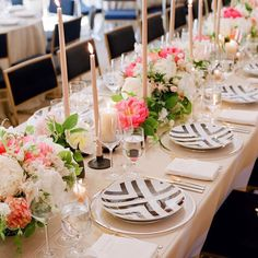 There's so much I love about this wedding but the dinner tabletop and peonies in abundance is at the top of my list.