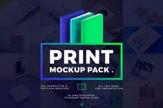 Print MockUp Pack by Mockup Zone on @creativemarket