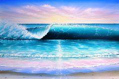 waves painting surf - Google zoeken