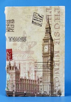 Decorative Faux Book Big Ben Clock London England Coffee Table Bookshelf Decor  #FuijanFurenWoodIndustryCoLtd