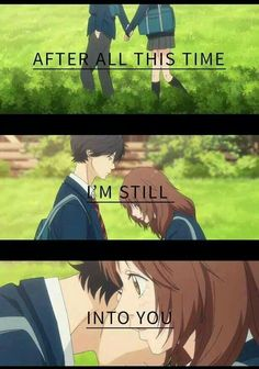 Ao Haru Ride. (Highly recommend this anime)