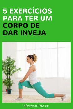Exercícios para definir o corpo