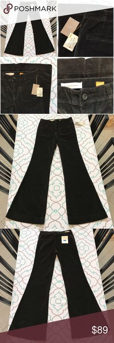 """NWT💙👖Awesome Anthro Bell Bottoms👖💙30 9/10 33"""" New! 💙👖Awesome Anthropologie Cords👖💙 Beautiful Corduroy Pants! Pilcro & the letterpress! Wide Super Flare! Bell Bottom Jeans! New With Tags! Size 30 (9/10). 33.5"""" Inseam. 10.75"""" Rise. High Waist. 14.75"""" Across Back. Amazing Stretch. Deep Rich Dark Brown Color. Awesome! Gorgeous! On Trend! Pilcro! Anthropologie! Ask me any questions! : ) Anthropologie Pants Boot Cut & Flare"""