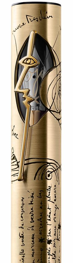 Montblanc Artisan Edition Pablo Picasso pens pay homage to the painter Love the design of this pen!!