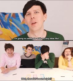 I need more Dan and Phil Sophie interactions pronto please || GIF SET: OUR SECRET FAN FICTIONS?! - Truth Bombs 2!