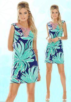 515f8e497b47 Lilly Pulitzer Navy   Multi.. Bristol Tiger Palm Dress. Free shipping and  guaranteed