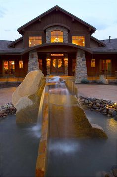 Craftsman style home.
