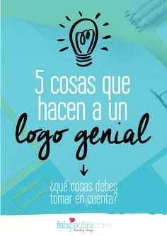 5 cosas que hacen a un logo genial, diseño, branding
