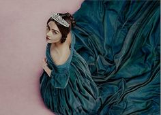 Getting to grips: Jenna playing Queen Victoria in a new ITV series based on the…
