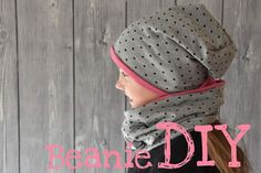 Baby Knitting Patterns Beanie DIY, sewing instruction, beanie, cap, learn to sew Sewing For Kids, Diy For Kids, Sewing Clothes, Diy Clothes, Costura Diy, Diy Hat, Beanie Diy, Original Gifts, Couture Sewing