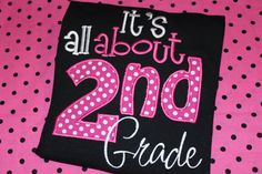 It's all about 2nd grade school teacher shirt can by stephstowell