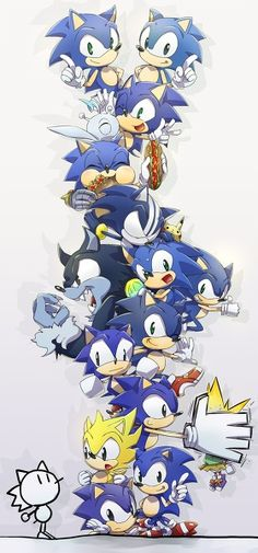 Sonics throughout the ages