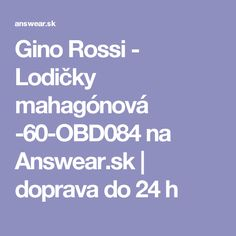 Gino Rossi - Lodičky mahagónová -60-OBD084 na Answear.sk   doprava do 24 h