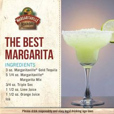 The Best Margarita Party Drinks Alcohol, Alcohol Drink Recipes, Bar Drinks, Cocktail Drinks, Yummy Drinks, Beverages, Tequila Drinks, Margaritaville Machine Recipes, Margaritaville Frozen Concoction Maker