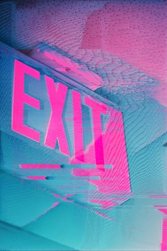 Every EXIT sign is a haunting reminder of the fires that mandated their existence.