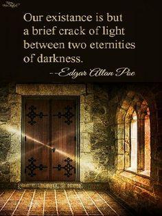 Deep thought for the day courtesy of Edgar Allan Poe (19-Jan-1809 to 07-Oct-1849). #poet #dreaming #thoughts #author #eternityplayhouse #edgarallanpoe #darkstories Dark Stories, Edgar Allan Poe, Deep Thoughts, Author, Day, Humor, Edgar Allen Poe, Writers