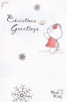 Hello Kitty Classic - Christmas Card