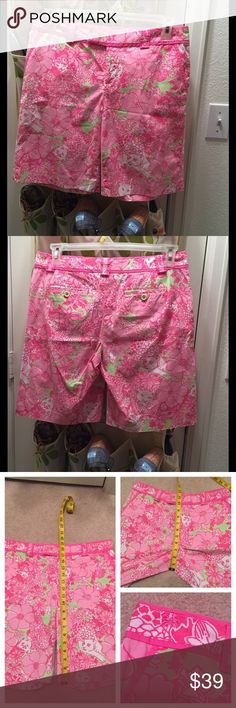 🌺🌷Lilly Pulitzer shorts🌷🌺 ✅✅✅in great condition pls feel free to ▶️▶️OFFER😊 Lilly Pulitzer Shorts Bermudas
