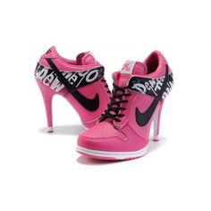 e8c4f007a0920b Nike Dunk Sb Low Heels Peachblossom Black For Women Hot Sale