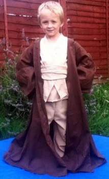 Handmade to order Obi Wan Styled Fancy Dress costume.  From Only £39.99 - This costume includes hooded robe, tunic, chest plates, trousers and belt.  This costume is exclusive to Kenickys Fancy Dress and will be very well made. Please visit our website today on www.kenickysfancydress.co.uk or why not give us a call on 07403 720248  we are always ready to help.
