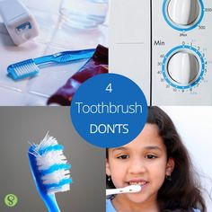 Take care of your toothbrush for a healthier you! Lambert Pediatric Dentistry - www.tribecapediatricdentistry.com