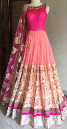 anarkali gown Designer Indian Latest Bollywood Bridal Embroidered Eid free ship in Clothing, Shoes & Accessories, Cultural & Ethnic Clothing, India & Pakistan Anarkali Gown, Patiala Salwar, Lehenga, Long Anarkali, Ethnic Dress, Indian Ethnic Wear, Designer Gowns, Indian Designer Wear, Indian Dresses