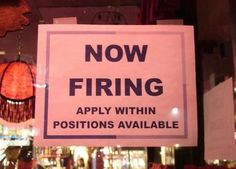 Not sure I'd want to apply here. Could be very short-lived employment.