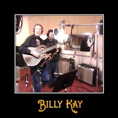 """Billy Kay and Chad Recording the Original demo of """"Up to You"""" at Jeff Howell's studio in Waynesboro, TN  All royalties from this song from iTunes, Amazon and similar downloads, all streaming proceeds, and any other related online sales are donated to GameChanger Children's Charity. Please visit them at http://gamechangercharity.org  You can listen to and download """"Up to You"""" on iTunes at https://itunes.apple.com/us/album/up-to-you-single/id981957608?uo=4&at=11l5Ku  All My Best, Billy Kay"""