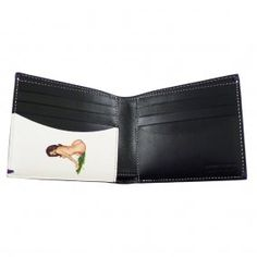8a08015d15b6 PAUL SMITH - ACCESSORIES Black & Naked Lady Interior BFold Wallet Naked,  Will Smith,