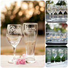 Planning a wedding?  Share & Save this pin for a 10% code to use store-wide on all wedding glassware!  #weddings #engaged #bridal