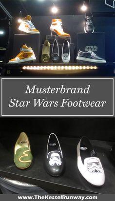 Musterbrand x Star Wars footwear range revealed at Celebration Orlando ⭐️ Star Wars fashion ⭐️ Geek Fashion ⭐️ Star Wars Style ⭐️ Geek Chic ⭐️ Geek Fashion, Star Fashion, Celebration Orlando, Star Wars Shoes, Geek Jewelry, Jewellery, Star Wars Outfits, Jewelry Tattoo, Fashion Marketing